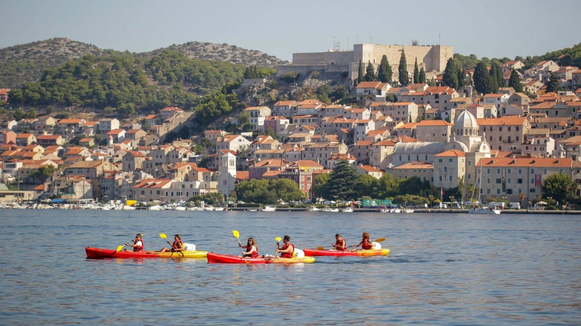 Kayaking Šibenik